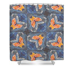 Butterfly Love Shower Curtain