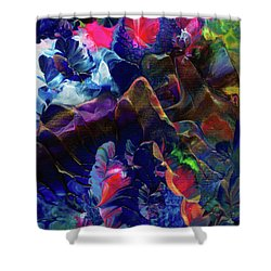Butterfly Mountain Shower Curtain