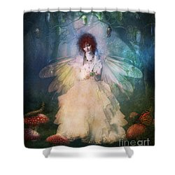 Butterfly Painter Shower Curtain