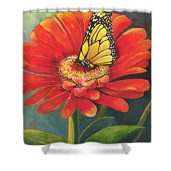 Butterfly Rest Shower Curtain