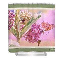 Butterfly Summer Shower Curtain