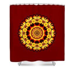 Butterfly Sun Shower Curtain