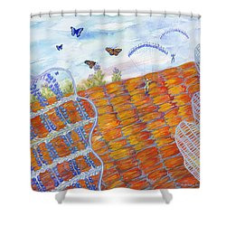 Butterfly's Wings Shower Curtain