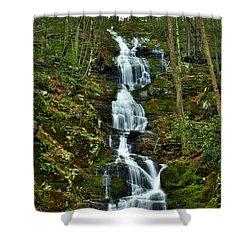 Buttermilk Falls Spring Shower Curtain