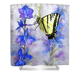 Butteryfly Delight Shower Curtain
