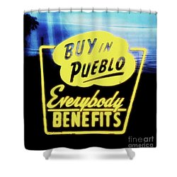 Buy In Pueblo Shower Curtain
