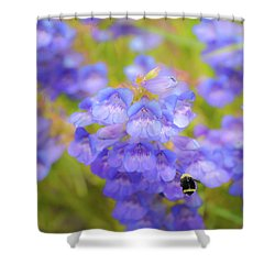 Buzzing Around Shower Curtain