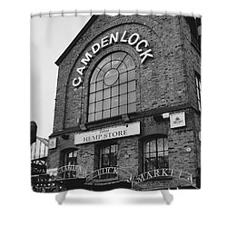 Bw Series Camden Lock Market Shower Curtain