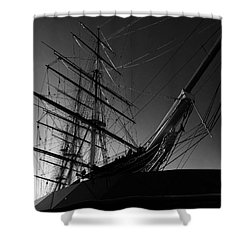Bw Series Cutty Sark Five Shower Curtain