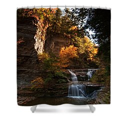 By Dawn's Early Light Shower Curtain