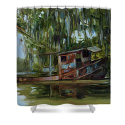 By Gone Days Shower Curtain
