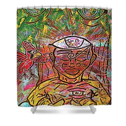 By The Bodhi Tree Shower Curtain