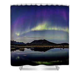 By The Pond Shower Curtain