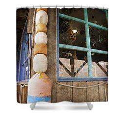 Shower Curtain featuring the photograph By The Sea by Fran Riley