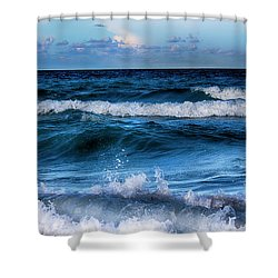 By The Sea Series 03 Shower Curtain