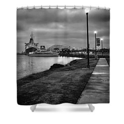 Shower Curtain featuring the photograph By The Shore by Joseph Hollingsworth
