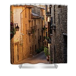 By The Town Of Ainsa In The Province Of Huesca Shower Curtain