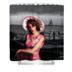 Bygone  ... Shower Curtain