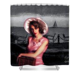 Bygone  ... Shower Curtain by Chuck Caramella
