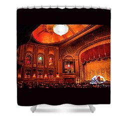 Byrd Theatre Organist II Shower Curtain