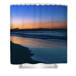 Byron Bay After The Sun Sets Shower Curtain