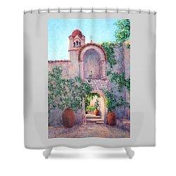 Byzantine Archway Shower Curtain