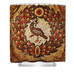 Byzantine Bird Shower Curtain