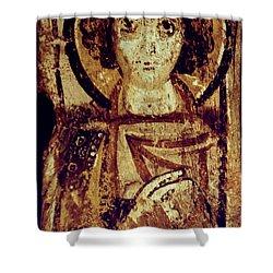 Byzantine Icon Shower Curtain by Granger