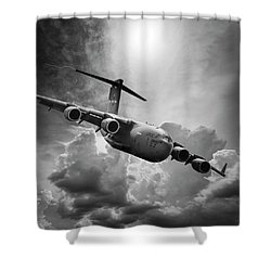 C-17 Globemaster Shower Curtain