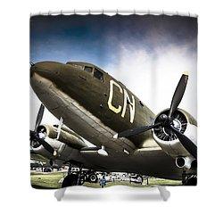 C-47d Skytrain Shower Curtain