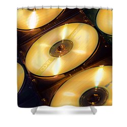 Shower Curtain featuring the photograph C D Collection by Bob Pardue