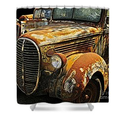 C208 Shower Curtain