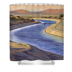 Ca Aqueduct 2 Shower Curtain