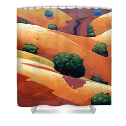 Ca Rollers Trip II Shower Curtain by Gary Coleman
