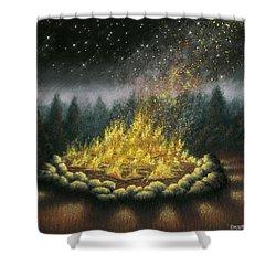 Campfire 01 Shower Curtain