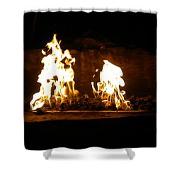 Cabana Fire  Shower Curtain