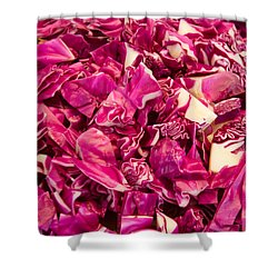 Cabbage 639 Shower Curtain