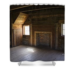 Cabin Home Shower Curtain by Ricky Dean