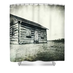 Cabin Near Paradise Springs - Kettle Moraine State Forest Shower Curtain by Jennifer Rondinelli Reilly - Fine Art Photography