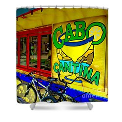 Cabo Cantina - Balboa Shower Curtain
