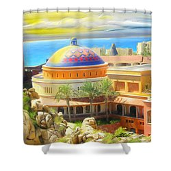 Cabo Condo Shower Curtain