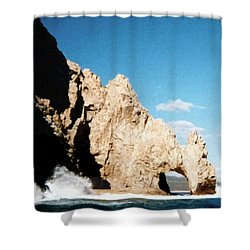 Cabo San Lucas Arch Shower Curtain by Will Borden