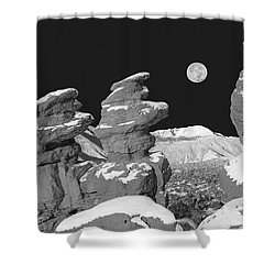 Cabrakan, The Mayan God Of Mountains  Shower Curtain