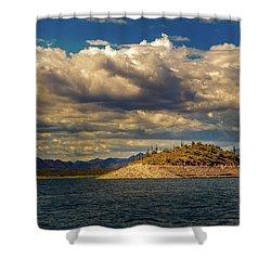 Cactus Island Shower Curtain