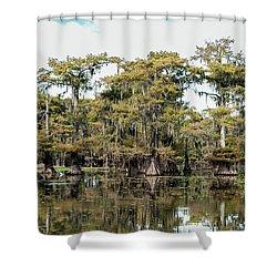 Caddo Bayou Shower Curtain