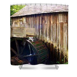 Cade Cove Mill Shower Curtain