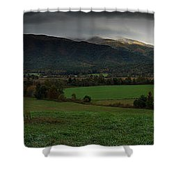 Cades Cove Panoramic Shower Curtain