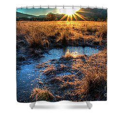 Shower Curtain featuring the photograph Cades Cove, Spring 2017,ii by Douglas Stucky