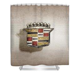 Cadillac Badge Shower Curtain
