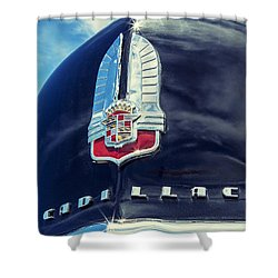 Cadillac Shower Curtain by Caitlyn Grasso